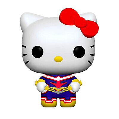 Funko My Hero Academia Hello Kitty POP Hello Kitty All Might Figure NEW IN STOCK