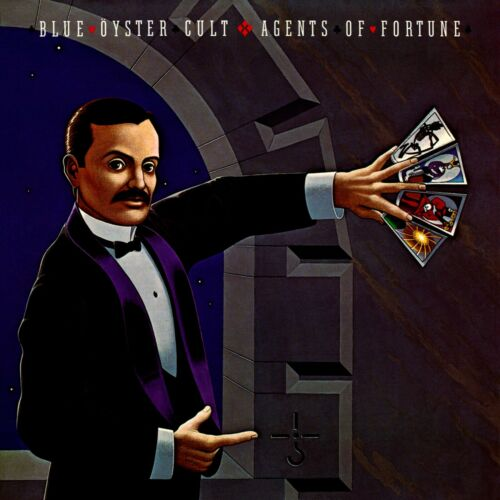 BLUE OYSTER CULT Agents of Fortune BANNER HUGE 4X4 Ft Fabric Poster Tapestry art