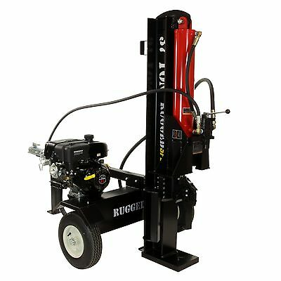 37 Ton Horizontal / Vertical Log Splitter, Includes 4-Way Blade - FREE SHIPPING!