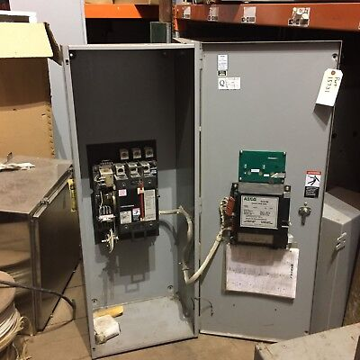 Asco Automatic Transfer Switch 225amps 208volts 60hz 3 Phase. Series 300