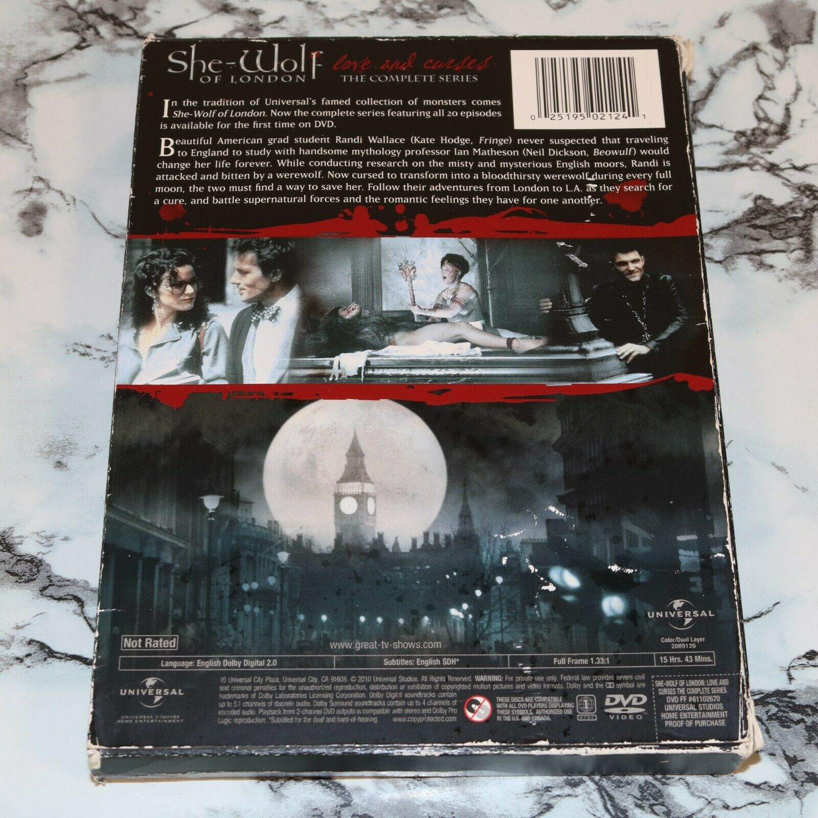 She-Wolf Of London - Love And Curses - The Complete Series 4-Disc DVD Set  - $12.68