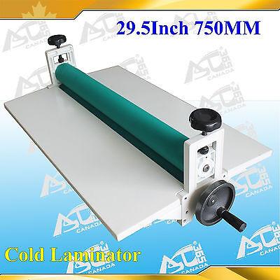 Manual 29.5 750mm Vinyl Mounting Cold Laminating Machine Laminator