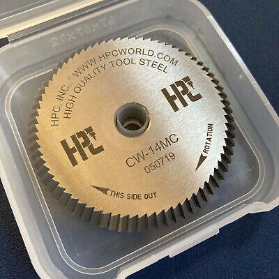 Original Hpc Cw-14mc Standard Cutter Wheel For 1200 Blitz - Free Priority Mail