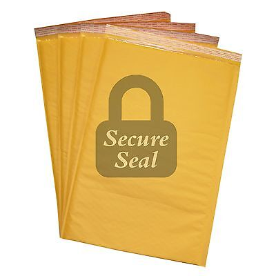 300 6 12.5x19 Kraft Bubble Mailers Self Seal Padded Envelopes 12.5 X 19