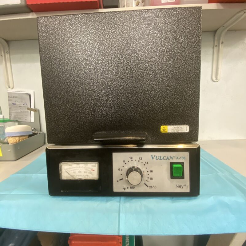 Dental Lab Burn Out Oven Ney Vulcan A-130