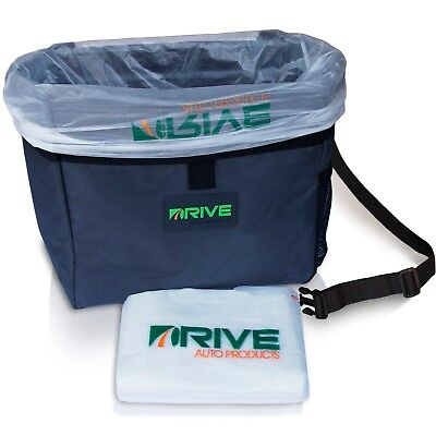 Car Trash Can   As Seen On Tv By Drive Auto Products  20 Hanging Liners Included