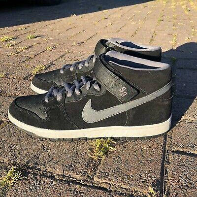 Nike SB Dunk Mid Griptape Black Mens Size 10