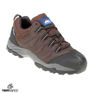 Himalayan 4106 S1 SRC Brown Gravity Composite Toe Cap Metal Free Safety Trainers