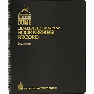 Dome Bookkeeping Record Book Dom-600 Dom600