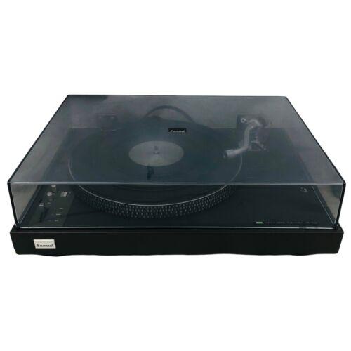 sr 525 direct drive turntable vintage electronics