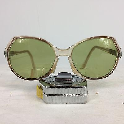 Vintage Womens Oversized Round 70s 60s Frame Sunglasses Sethway USA Mod Disco