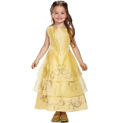 BELLE BALL GOWN Costume Dress Toddler (3T/4T) Disney's Beauty and the Beast Film