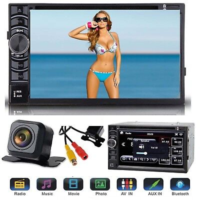 For 2005-15 FORD F150/250/350/450/550 2DIN DVD AUX BLUETOOTH RADIO STEREO+CAMERA, used for sale  Walton