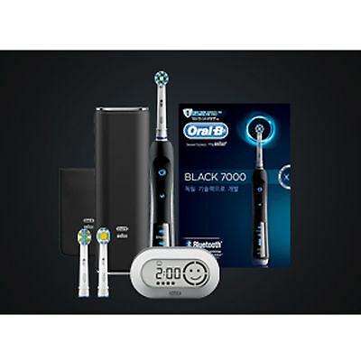 Oral-B BRAUN D36 7000 Smart Series Electric Bluetooth Toothbrush Black Color