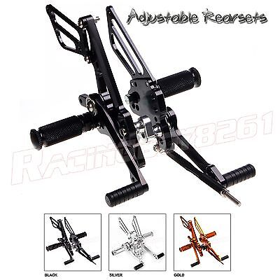 CNC Adjustable Racing Rearsets Rear sets for for Suzuki GSXR1000 2007 2008 K7 (Racing Rear Sets)