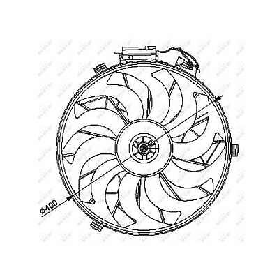 Genuine NRF Engine Cooling Radiator Fan - 47028
