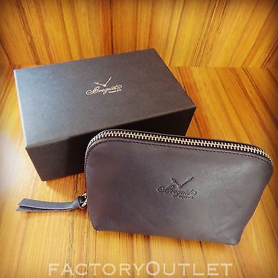 Breguet TOILETRY BAG Navy Blue Leather BEST QUALITY (Best Travel Bags 2019)