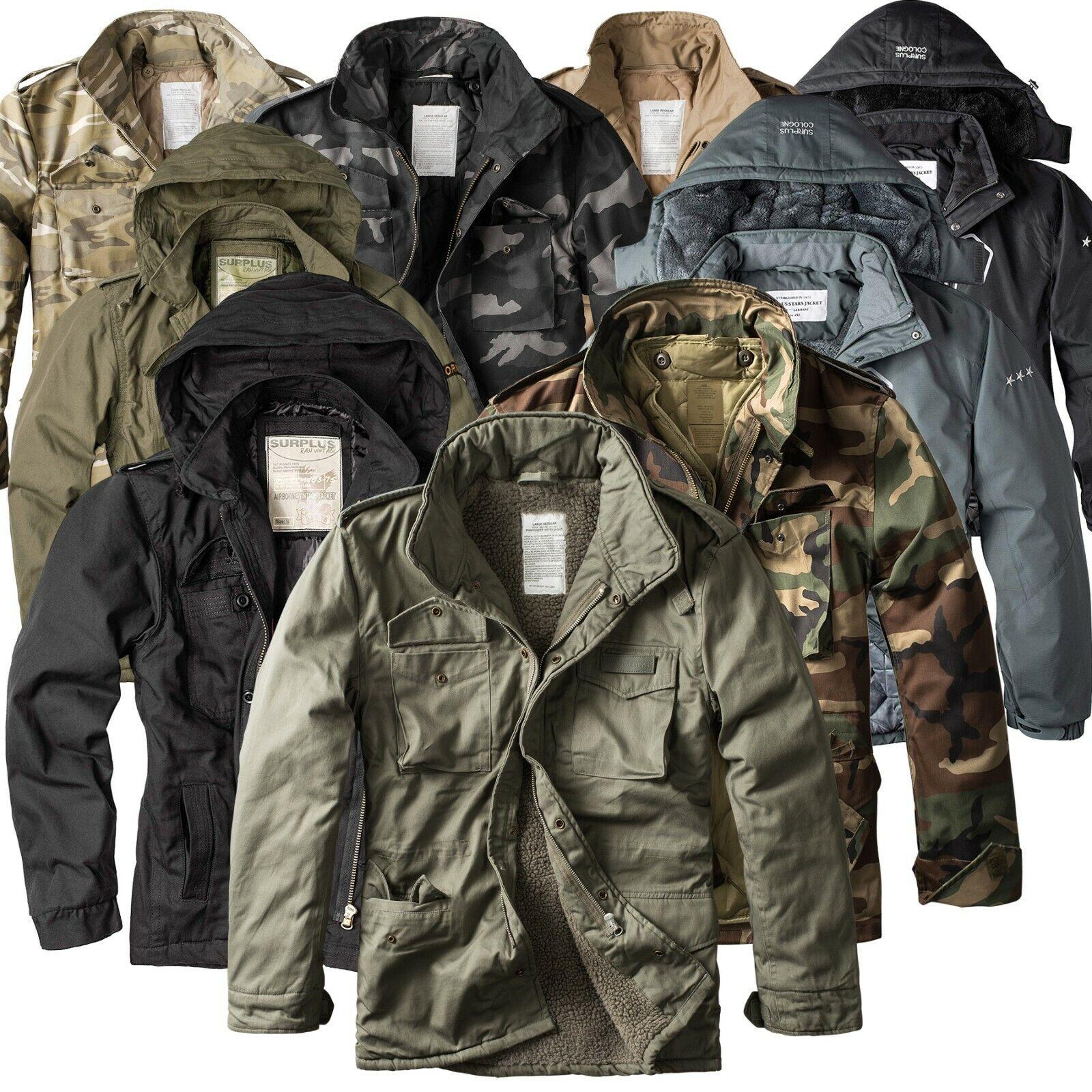 ★ SURPLUS RAW Vintage™ Herren Winter Jacken Fieldjackets Giant Parka 2019/2020