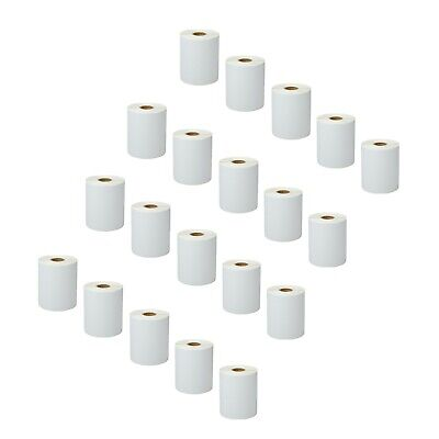 20 Roll 250 4x6 Direct Thermal Labels For Zebra Eltron Tlp 2844 Zp-450 500 505