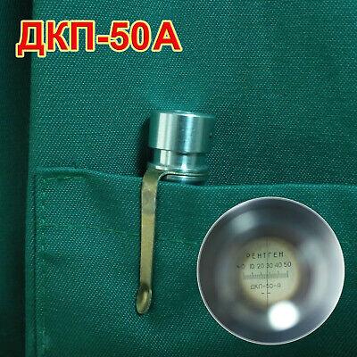Dkp-50a Dkp50a Personal Dosimeter Radiation Detector Soviet Geiger Counter Nos