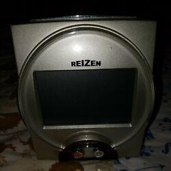 Reizen Radio Controlled British Talking Alarm Clock (Model TKC101U)