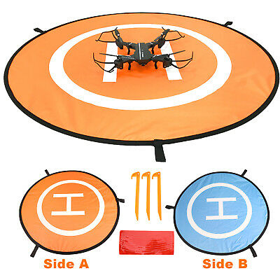 Quadcopter Apron Drone Landing Pad Helipad Launch Case For DJI Mavic Phantom