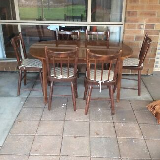 Dining table and chairs Craigmore Playford Area Preview