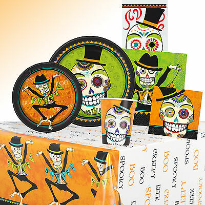Day Of The Dead Themed Halloween Party (Day Of The Dead - HALLOWEEN PARTY RANGE (Tableware/ Decorations))