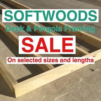 Treated Pine Timber Specials 120x45 , 140x45 & 90x45