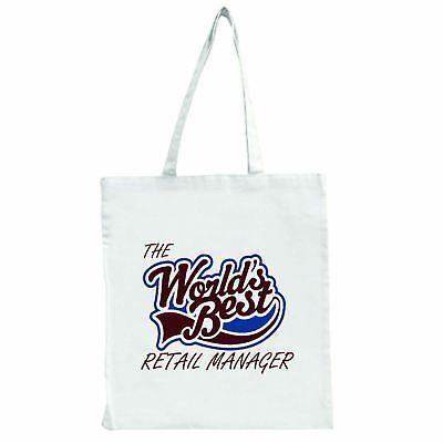 Die Worlds Best Einzelhandel Manager - Groß Einkaufstasche Tasche