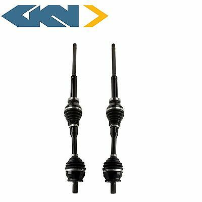 NEW Volvo XC90 All Wheel Drive Pair Set of 2 Front Axle Shafts Assembly OEM GKN