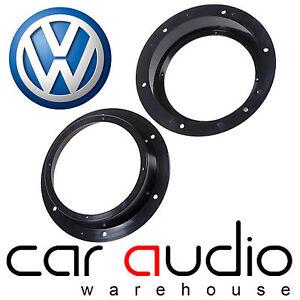 Volkswagen Transporter T5 Pre 2008 Front Door Speaker Ring Adaptors 6.5