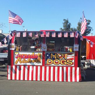 Uncle Sam's American Hot Dog Wagon Waterford Logan Area Preview