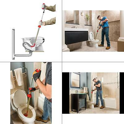 Ridgid K6p 6 Ft. Cable Drain Toilet Auger Heavy Duty Tri-wrap Home Plumbing New