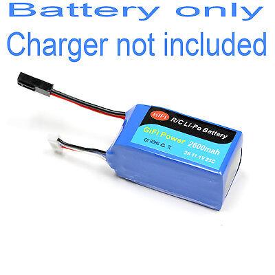 LiPo Battery 2600mAh HIGH CAPACITY For PARROT AR.DRONE 2.0 & 1.0  11.1V