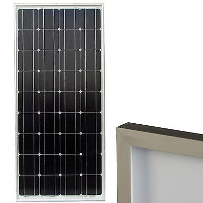 Solar Electric Panels - 90 Watt Solar Electric Power Panel 12V Monocrystalline PV Module Photovoltaic