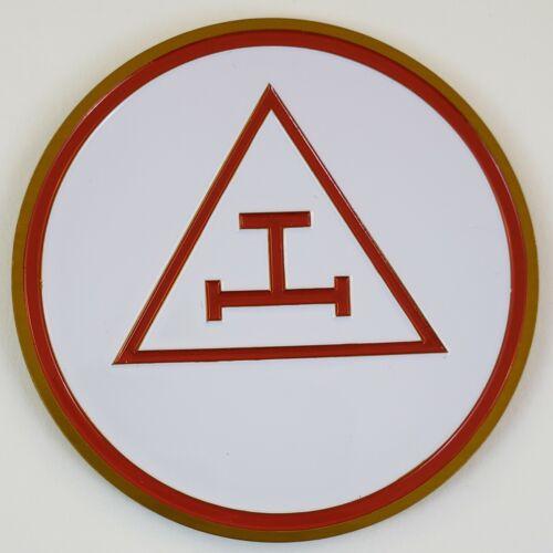 Auto Emblem Royal Arch Aluminum Masonic Freemason Mason