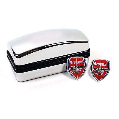 Arsenal FC Wappen Manschettenknöpfe - Offiziell mit Hologram - Gunners (Arsenal Manschettenknöpfe)