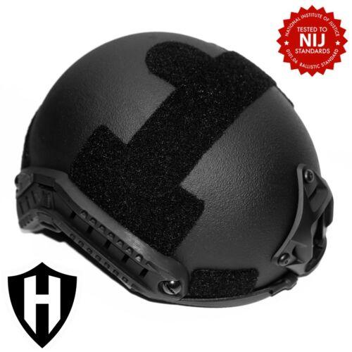 Level IIIA ballistic helmet, FAST style, made with Kevlar - lab tested & video