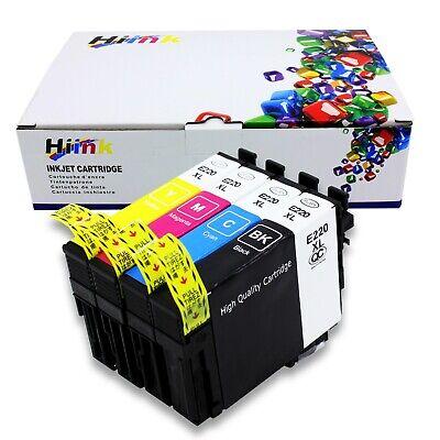 4PK 220XL  Ink For Epson XP-320 XP-420 XP-424 WF2630 WF2650 WF2660 WF2750