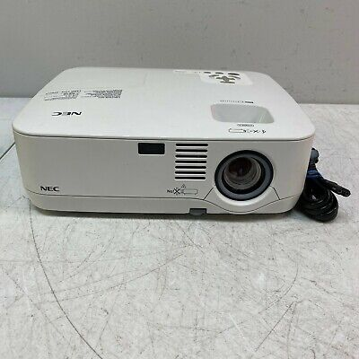 NEC NP400 Portable XGA LCD Projector 2600 Lumens w/ Lamp *Tested 1545 Hours