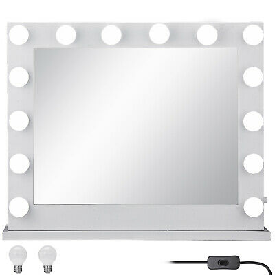 Hollywood Lighted Makeup Vanity Mirror with Lights + FREE 16 LED Dimmable Bulbs