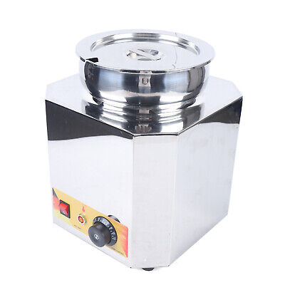 6l 110v Commercial Cheese Chips Sauce Warmer Warmer Kettle Pan Carnival King