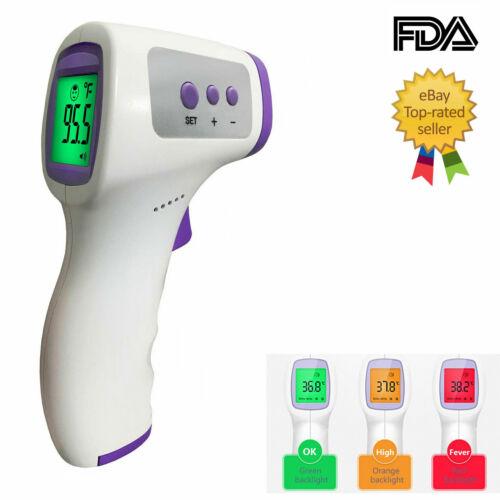 Infrared Non Contact Thermometer Forehead | FDA & CE | USA Stock | Medical Grade