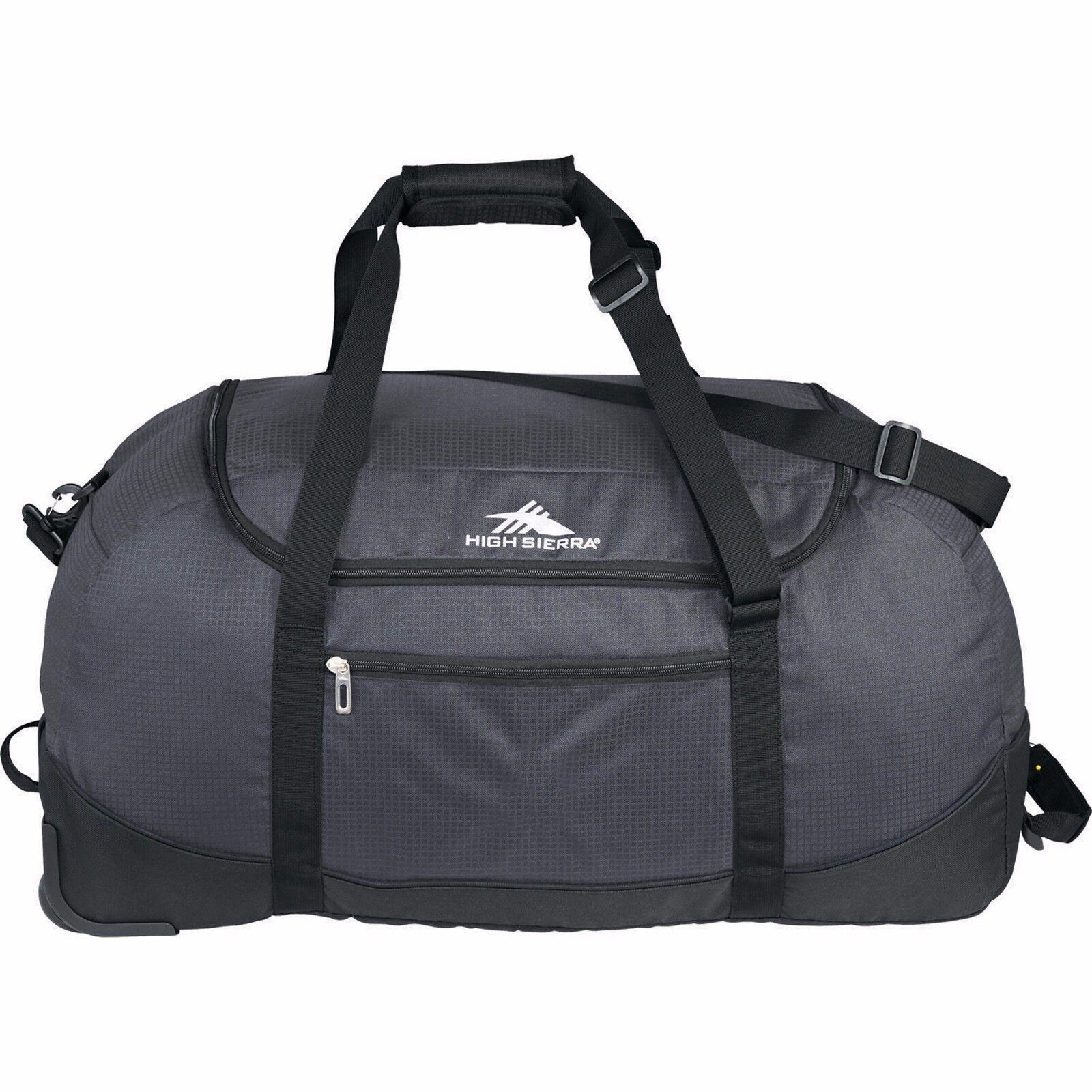 "High Sierra® Pack 30"" Wheel-N-Go Duffel Bag TRAVEL sports w"