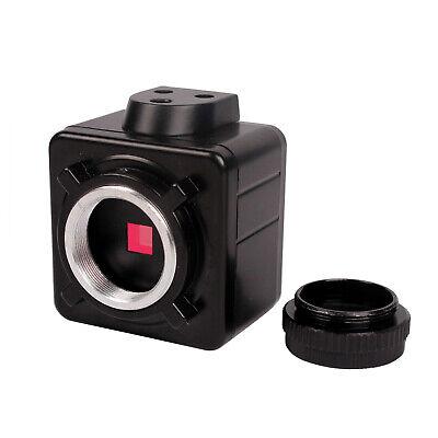 5.0mp Hd Usb Digital Camera C-mount Trinocular Microscope For Industrial Lab Us