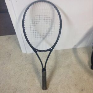 SPALDING TENNIS RAQUET AND PROTECTIVE COVER
