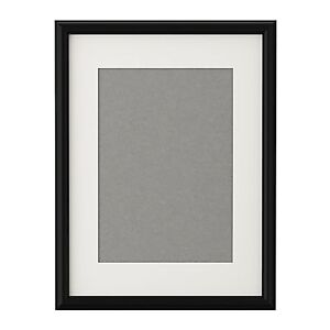 Ikea Black Picture Frame WITH MOUNT Poster Prints Photo ...