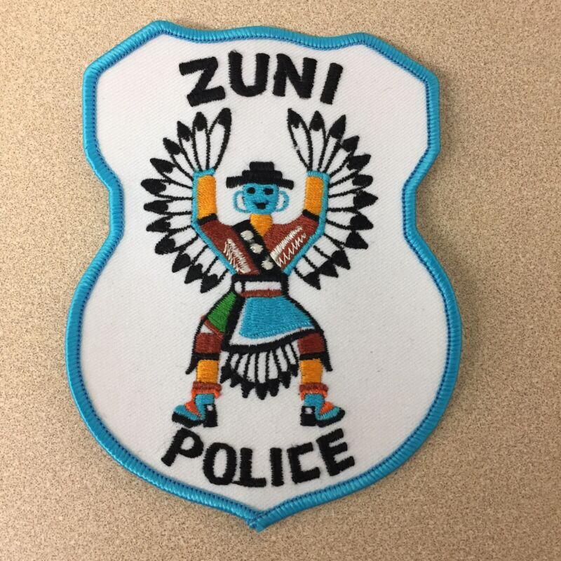 "Zuni Police NM New Mexico Dancer Tribal Police 5"" Patch AR117"
