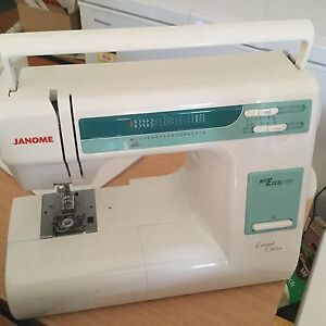 As New Janome 18W Use for Demo ONLY come everything but a box Burpengary Caboolture Area Preview
